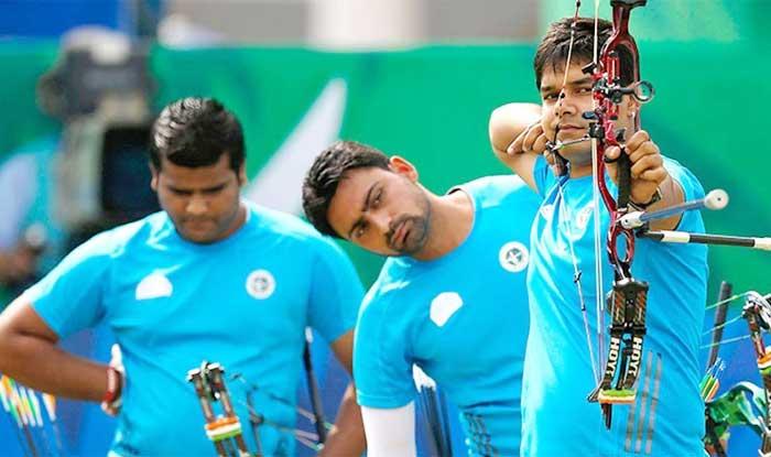 भारतीय पुरुषों की कंपाउंड टीम ने तीरंदाजी वर्ल्ड कप में जीता गोल्ड मेडल (getty)