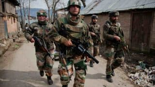 Kashmir: Security forces conduct massive search operation in Shopian, face stone pelting