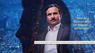 'पैसा भगवान नहीं होता, लेकिन भगवान से कम भी नहीं होता', सैफ की फिल्म 'बाजार' का पोस्टर रिलीज