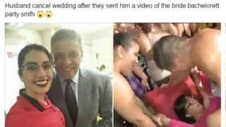 Bride-to-be has steamy sex with stripper at her bachelorette party, gets dumped by fiancé after raunchy video goes viral!