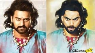 Virat Kohli as Bahubali 2 movie star Prabhas! Indian Cricket Captain looks regal in this Baahubali avatar sketch