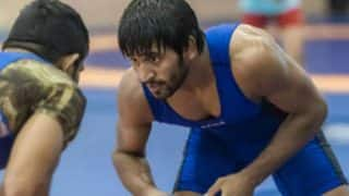 Bajrang Punia wins gold at Asian Wrestling Championships, defeats Korea's Lee Seung-Chul 6-2 in men's 65kg freestyle