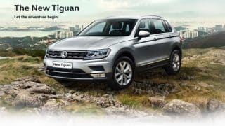 LIVE New Volkswagen Tiguan 2017 launch Updates: Price in India, specifications, features, mileage and variant