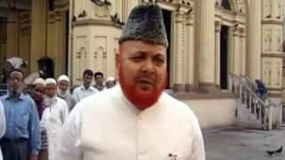 Maulana Nurur Rehman Barkati sacked as the Shahi Imam of Tipu Sultan Mosque