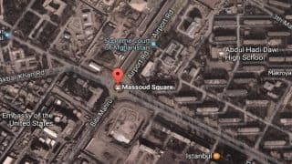 Terror attack in Afghanistan: Suicide bomber blows himself near US embassy in Kabul; 4 killed