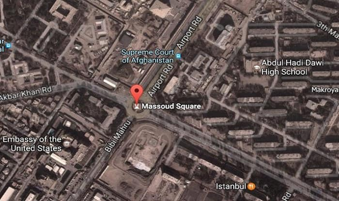 Terror Attack In Afghanistan Suicide Bomber Blows Himself Near US - Us embassy attacks map