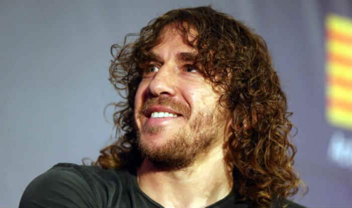 Sports Minister launches ceremonial ticket with Puyol