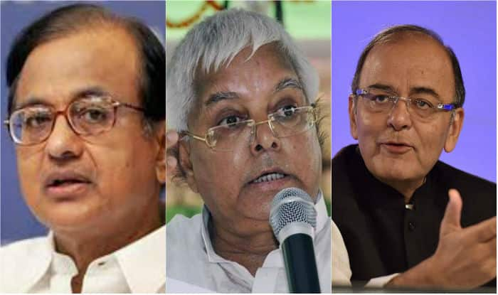 50 raids in one day, including places of P Chidambaram and Lalu Prasad Yadav; Day of reckoning has come, says Arun Jaitley