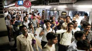 Fault in Delhi Metro blue line, services delayed, commuters stranded for hours