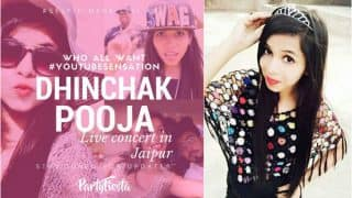 Watch Dhinchak Pooja Singing & Performing in a Live Concert Now! Reports of her Jaipur Event go viral