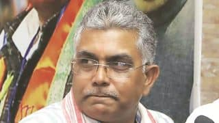 Two FIRs Filed Against BJP's Dilip Ghosh Over His 'Shot Like Dogs' Remark on Anti-CAA Protestors