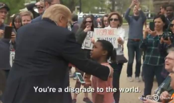 This Little Girl Told A Comedy Central Trump Impersonator About Himself
