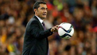 Barcelona Coach Ernesto Valverde Upbeat on Winning Streak