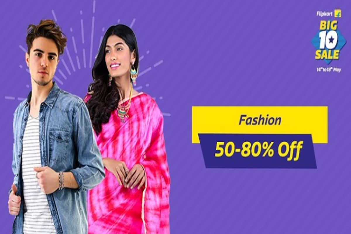 ccc922b36 Flipkart Big 10 Sale Day 3: Incredible discounts on fashion clothing ...