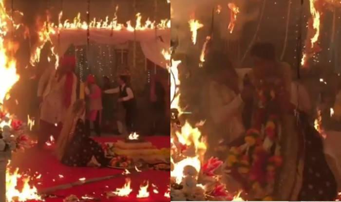 fire wedding pune
