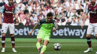 Liverpool thrash West Ham, Crystal Palace crush Hull City