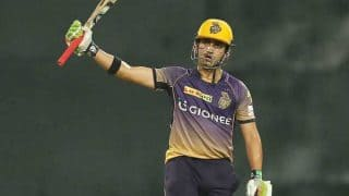 IPL 2017: Rain had made us nervous, says Gautam Gambhir