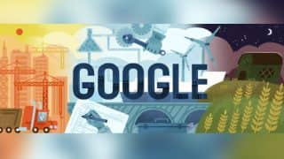 International Labour Day 2017: Google honours Labour Day with doodle