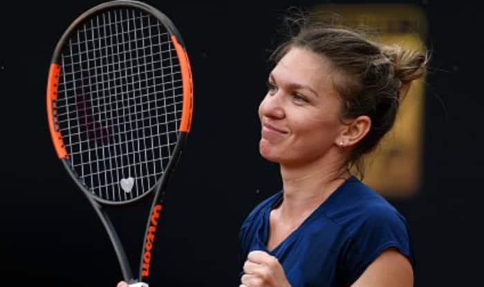 Simona Halep reaches her second straight claycourt final. (WTA Twitter)