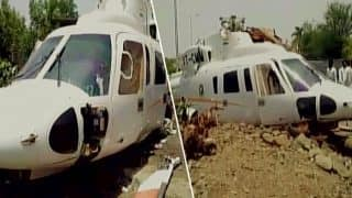 Maharashtra CM Devendra Fadnavis escapes unhurt after his helicopter crash lands in Latur