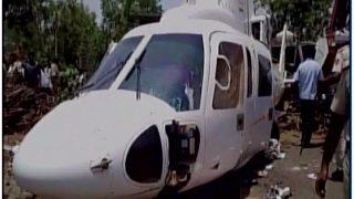 लातूर में हेलीकॉप्टर हादसे में बाल-बाल बचे सीएम फडणवीस