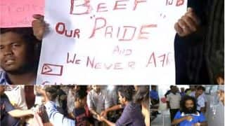 IIT Madras on boil: Students eat beef again in protest after organiser of 'beef fest' thrashed by ABVP; probe ordered