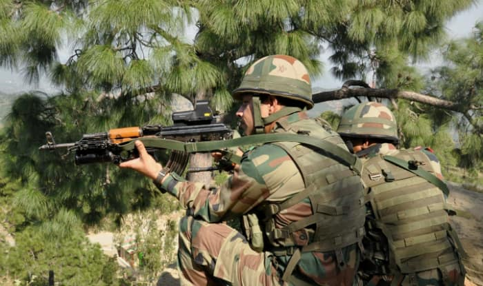 Image result for Army jawan martyred, 3 terrorists gunned down in encounter in J&K's Pulwama