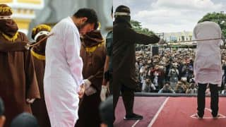 Indonesian Men publically caned for having gay sex and defying Sharia law! Aceh province latest punishment promotes Anti-homosexuality laws