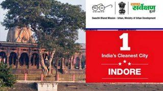 स्वच्छता सर्वेक्षण में मध्य प्रदेश ने मारी बाजी, पहले नंबर पर इंदौर, दूसरे नंबर पर भोपाल