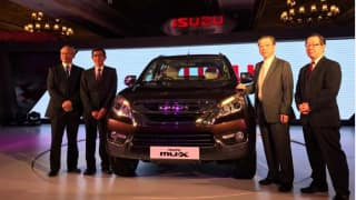 Isuzu MU-X premium SUV launched; Price in India starts at INR 23.99 lakh