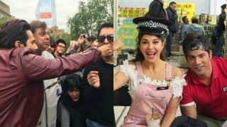 Work hard, party harder: Varun Dhawan, Jacqueline Fernandes and David Dhawan made the most of Judwaa 2 London schedule (view pics)