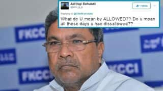 Karnataka CM Siddaramaiah tweets about 'allowing ambulance to overtake convoy', gets scolded by Twitter