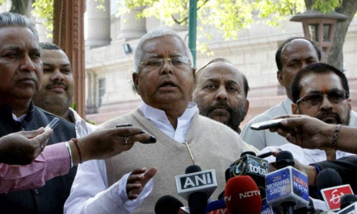 CBI raids at Lalu Prasad's premises not intimidating: Bihar govt