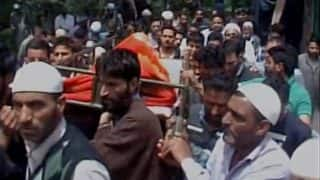 Lt Ummer Fayaz laid to rest, stone pelting reported at his funeral in Kashmir