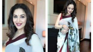 Madhuri Dixit Birthday: Anil Kapoor, Juhi Chawla, Jackie Shroff wish the dancing diva on her 50th birthday!