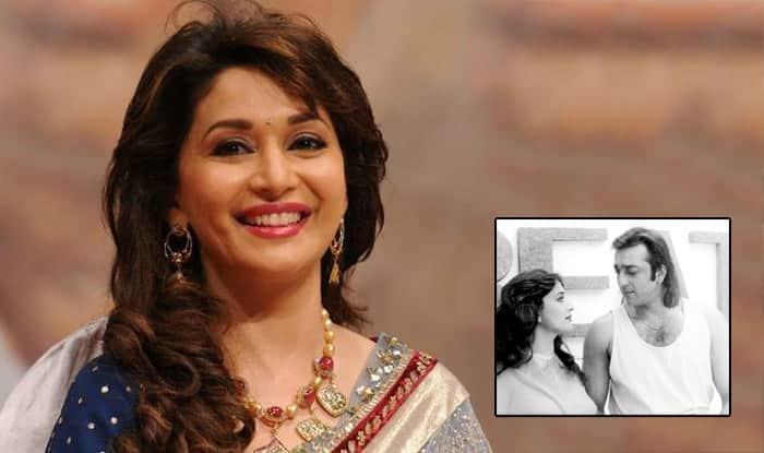 Madhuri Dixit REACTS To The Rumors Of Her Character In Sanjay Dutt Biopic