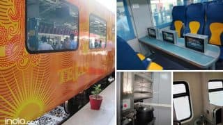 Tejas Express, India's fastest train, to rollout on Mumbai-Goa route on May 22 (View pictures)