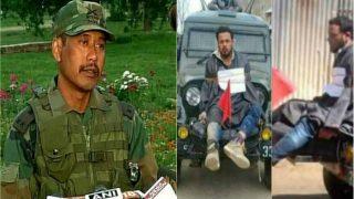पत्थरबाज को जीप से बांधने का मामला: सेना की जांच में मेजर गोगोई बरी- सूत्र