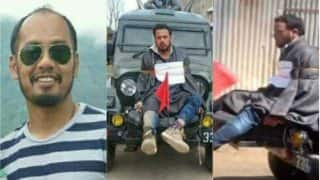 Major Nitin Leetul Gogoi, awarded by Army Chief, justifies his decision to use a protester as a human shield
