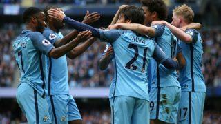EPL 2017-18: Manchester City Thrash Swansea, Romelu Lukaku Lead Manchester United to Victory