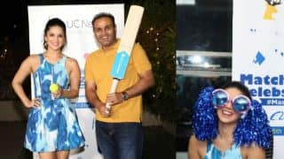Sunny Leone and Virender Sehwag team up for Masala Commentary Live at VIVO IPL 2017 and the jokes were outstanding