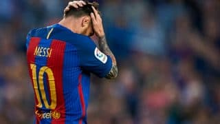 Barcelona pledge full support to Lionel Messi after prison sentence