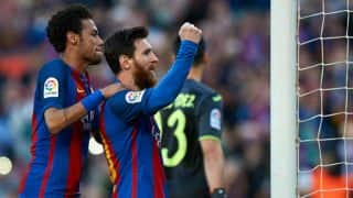 La Liga 2016-17: Barcelona thrash Villareal 4-1; Real Madrid thump Granada 4-0