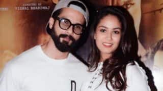 How did Shahid Kapoor react when Mira Rajput's motherhood statement created a huge controversy?