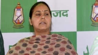'This Money Can be Used For Medicines in Muzaffarpur,' RJD Leader Misa Bharti Refuses to Attend PM's Dinner Party