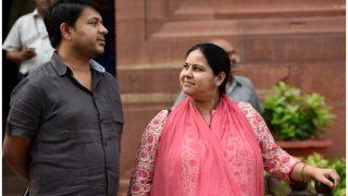 ED Raids RJD MP Misa Bharti's Residence in Delhi's Sainik Farms