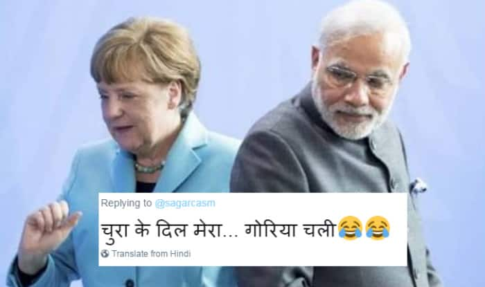 Narendra Modi and Angela Merkel handshake jokes is a passé