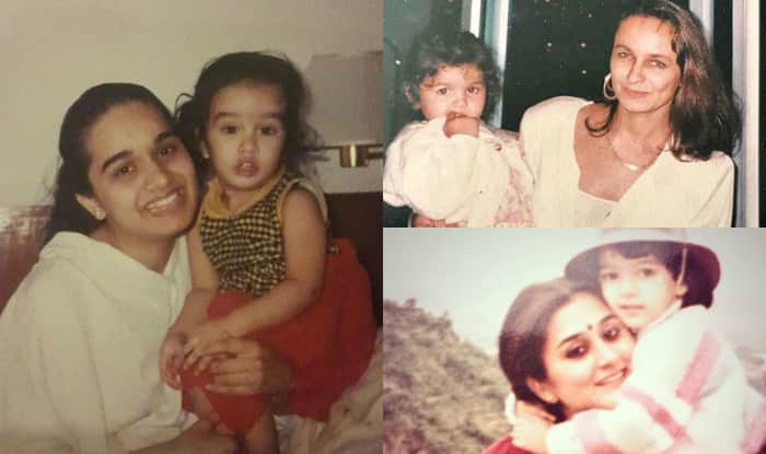 Happy Mothers Day 2017 Alia Bhatt Deepika Padukone Shraddha Kapoors Childhood Pictures With