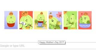 Mother's Day 2017: Google's inspirational doodle wishes all mothers by capturing the journey of motherhood with cacti animation!