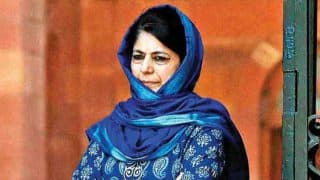 Jammu And Kashmir: Mehbooba Mufti Elected PDP President For 6th Consecutive Term